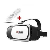 Очки виртуальной реальности для телефона VR BOX, с пультом, Акция