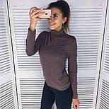 Женская модная кофточка-гольф с молниями (6 цветов), фото 3