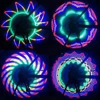 Подсветка на велосипед с рисунками (7 диодов), фото 1