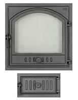 Комплект дверец для камина герметичный SVT 405-433