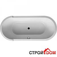Акриловая ванна овальная 180х80 отдельностоящя с ножками и панелями Duravit Starck 700010