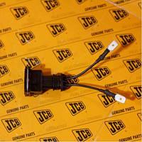 Электрический переходник соленоида остановки двигателя  JCB 3CX, 4CX
