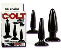 "Комплект анальных пробок ""Тренер"" - Colt Anal Trainer Kit"