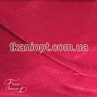 Ткань Замша на трикотаже (розовый)