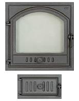 Комплект дверец отопительно-варочной печи SVT 406-433L
