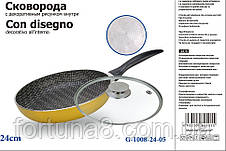 "Сковородка ""Con Disegno"" с декоративным рисунком внутри, фото 2"