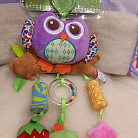 Сова Активная игрушка-подвеска