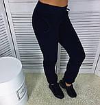 Женский красивый штаны из трехнитки на флисе (2 цвета), фото 4