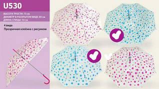 Зонтик (бело-голубой)
