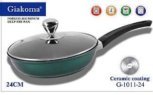 Кованная алюминиевая глубокая сковородка Deep Fry Pan