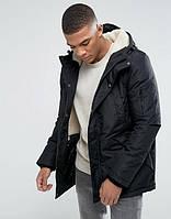 Парка\куртка D-Struct - Lapstole черная с меховой отделкой (мужская/чоловіча) Зима