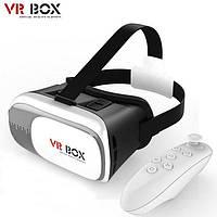 Очки виртуальной реальности для телефона VR BOX, с пультом, В наличии