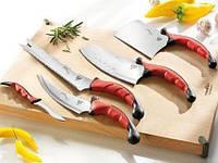 Отличный набор стильных, острых, надежных кухонных ножей Contour Pro