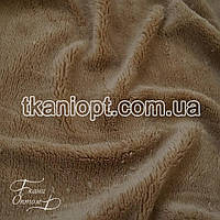 Ткань Махра (велсофт) бежевый