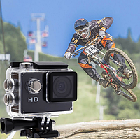 Спортивная экшн камера с возможностью подводной съемки DV A7