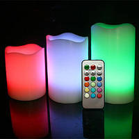 Набор электронных  свечей Scented Candles  (3шт)