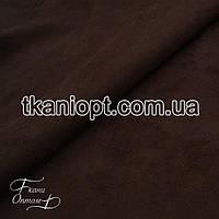 Ткань Неопрен замша (коричневый)