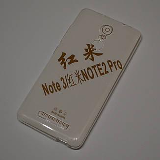 Чохол-накладка TPU для Xiaomi Redmi Note 3 Pro глянсовий, фото 2