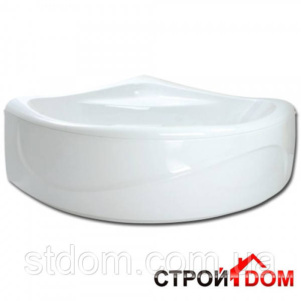 Ванна белая, угловая PAA Rumba