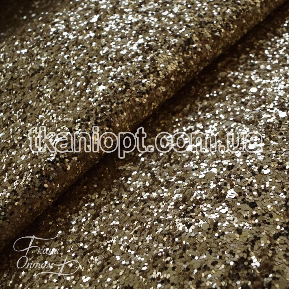 Ткань Ткань глиттер на хб основе (золото)