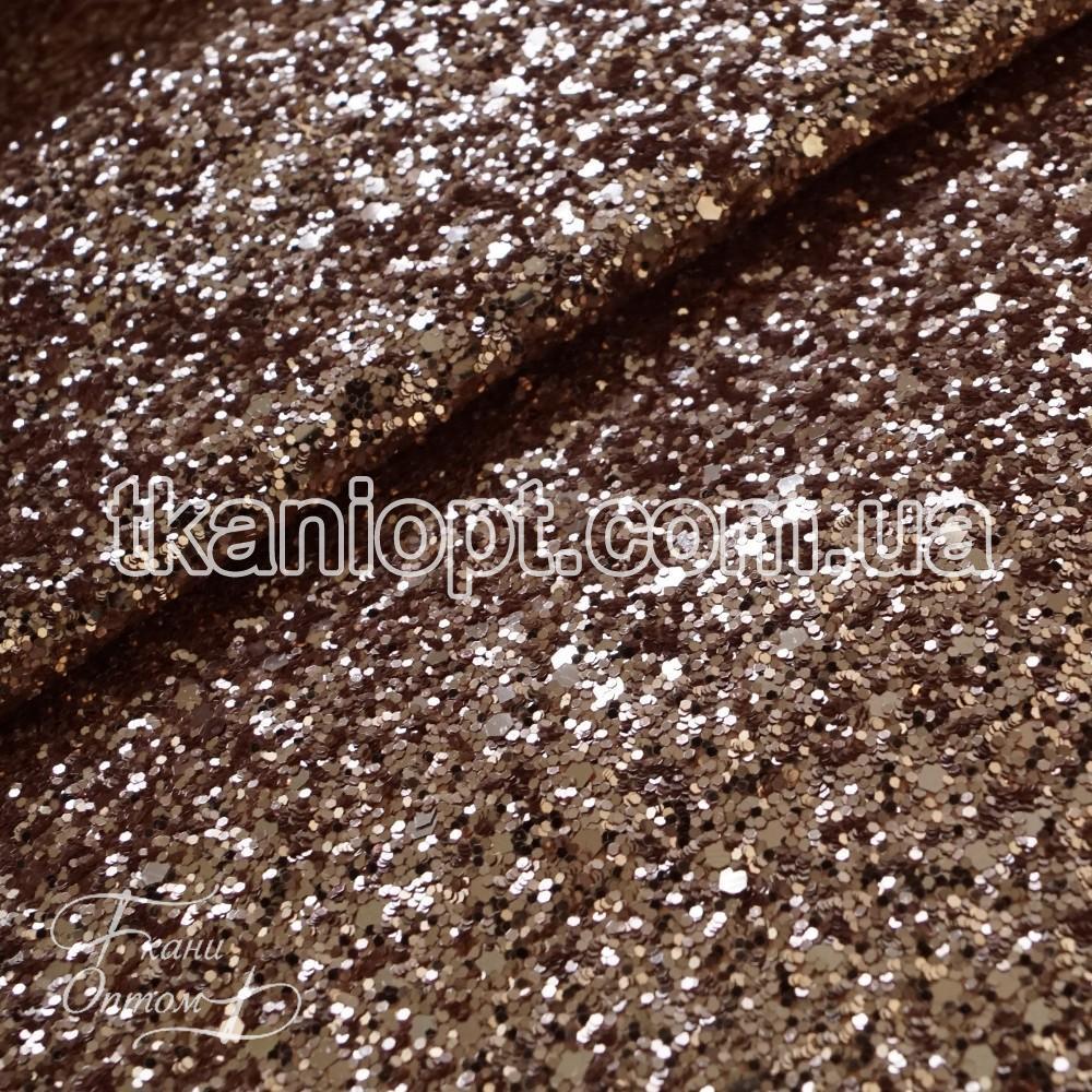62b3da92ee694 Ткань Ткань глиттер на хб основе (темное золото) - Ткани Оптом в Харькове