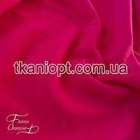 Ткань Трехнитка с начесом (малиновый)