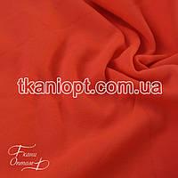 Ткань Трехнитка с начесом Турция (неон-оранжевый), фото 1