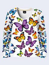 Лонгслив Butterflies