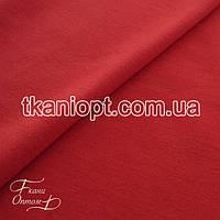 Ткань Трикотаж двунитка Турция (красный)