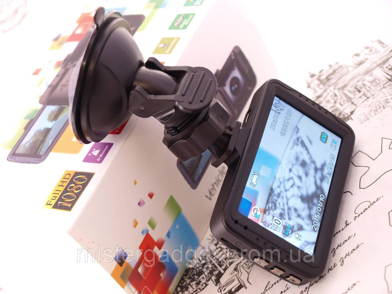 Видеорегистратор DVR 101 BlackBox. Датчик движения, датчик удара