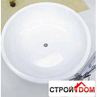 Ванна круглая+слив+крепления Flaminia Fontana FN135 белая