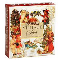 Подарочный набор чая Базилур коллекции Винтаж пакетированный