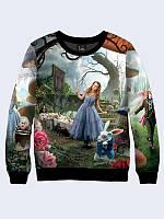 Женский свитшот Алиса в стране чудес