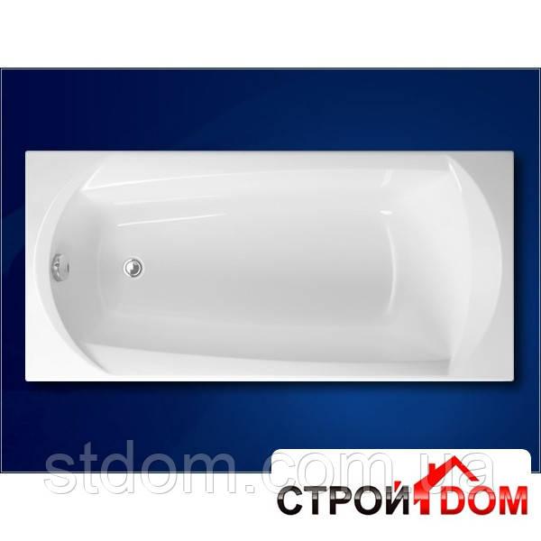 Прямоугольная акриловая ванна Vagnerplast Ebony 160 VPBA160EBO2X-01/NO