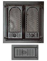 Комплект дверец отопительно-варочной печи SVT 402-432