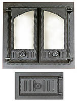 Комплект дверец для каминопечи SVT 403-432