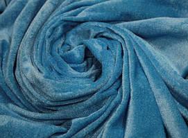 Ткань велюр тонкий стрейчевый