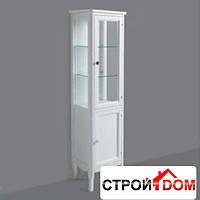 Шкаф с витриной Simas ARMV1 цвет белый