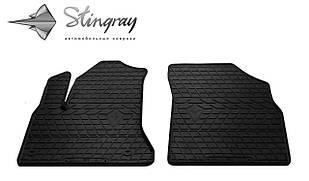 Citroen C4 Picasso 2006-2013 Комплект из 2-х ковриков Черный в салон
