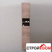 Шкаф навесной с дверцей Kolpa-San Pixor P 1802 (орех)
