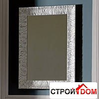 Зеркало с серебристой рамой 70x100 Kerasan Retro 7365