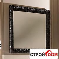 Зеркало с черной рамой 100x100 Kerasan Retro 7364