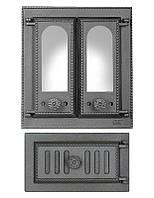 Комплект дверец для каминопечи SVT 408-432