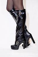 Женские стильные ботфорты TroisRois из натуральной турецкой кожи