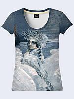 Женсая футболка Царевна-Лебедь