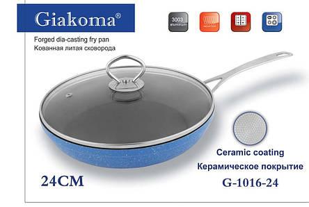 Кованная  литая сковорода Forget dia-casting fry pan, фото 2