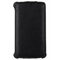 Чехол Vellini для LG L80 (D380) Black /Lux-flip/ (215519) (215519)