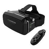 Очки виртуальной реальности для телефона VR Shinecon, с пультом