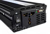Инвертор автомобильный 1200W, Преобразователь напряжения AC/DC 1200W, Хит продаж