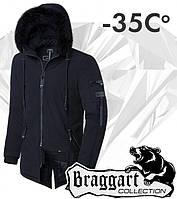 Braggart 'Black Diamond'. Куртка зимняя 3250 черная, фото 1
